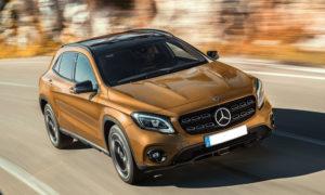 Noleggio lungo termine privati Fronte Mercedes GLA